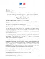 Arrêté préfectoral réglementant l'usage de matériels ou engins pouvant être à l'orgine d'un départ de feu
