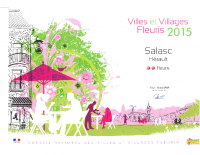 Village fleuri 2015