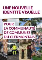 La CCC n°02-2021 – Nouvelle identité visuelle du Clermontais -Février 2021